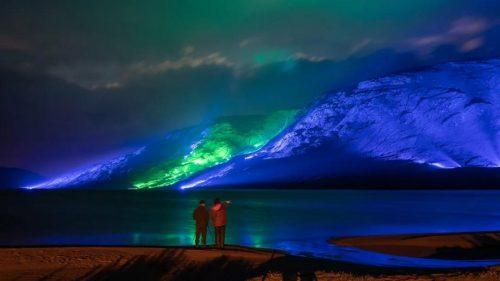 1000盏灯,将一座山变成艺术品